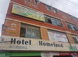 Homeland Hotel Magena, Nyangusu (Nyamira附近)