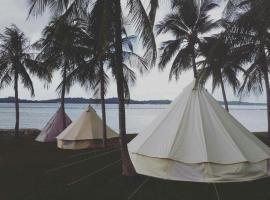 格兰露营舍大型帐篷露营地