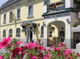 Hotel zum goldenen Hirschen, 伊布斯河畔的戈斯特林