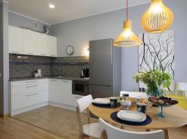 Brand new mid-century modern apartment in Riga