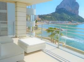 Baupres luxurious front line apartment in Calpe