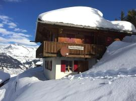 Chalet Saflischmannli auf der Alpe Rosswald