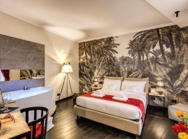 四头私人套房旅馆,位于罗马的旅馆