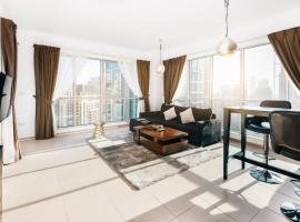 One Bedroom Apartment Dubai Fountain & Old Town View by Auberge,位于迪拜的公寓