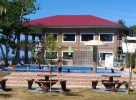 Lagoon beach resort