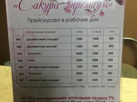 Hotel Zolotaia Lilia, Blagoveshchensk