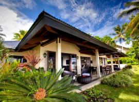 瓦努阿图华威乐拉冈水疗度假酒店,位于维拉港的酒店