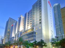希尔顿汉普顿酒店及套房迈阿密市中心/布里克尔