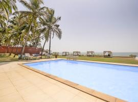 Beach-view cottage in Ashvem, Goa, by GuestHouser 41468