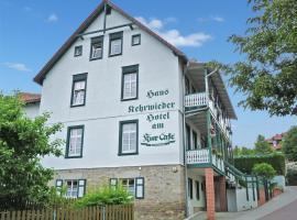 豪斯客维德库尔咖啡厅酒店,位于巴特苏德罗德的酒店