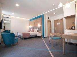 城市栖息地现代舒适套房旅馆