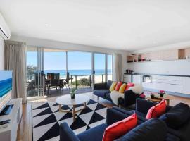 沙盒奢华海滩前公寓