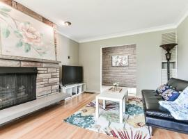 New Furnished Spacious House with Beautiful Ravine View
