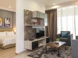 Encorp Marina Suites By Iconic Bliss,位于努沙再也公主港附近的酒店