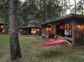 """Lodge """"Ezīša Midziņa"""", Ķegums (Lielvarde Municipality附近)"""
