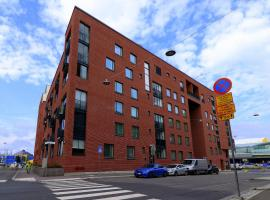 One bedroom apartment in Helsinki, Junonkatu 1