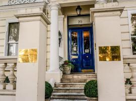 诺丁山修道院法院酒店,位于伦敦波多贝罗路市集附近的酒店