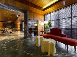 因豪斯大酒店,位于台中市台中火车站附近的酒店