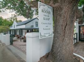 Hotel Roosje van de Kaap, 斯韦伦丹