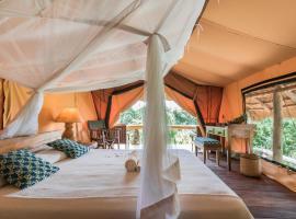 Semliki Safari Lodge, Yenga (Ituri附近)