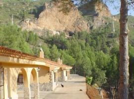 house with 3 bedrooms in yeste, with wonderful mountain view, furnished garde...