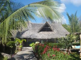 Mvuvi B&b Kite House 200m from the beautiful Watamu beach.