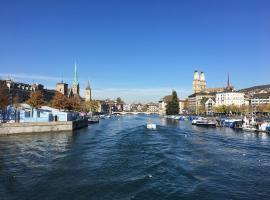 Touristenzimmer in Zürich für 2 Personen