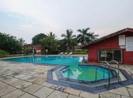 OYO 17341 Home Serene Studio with Pool Fatrade Beach