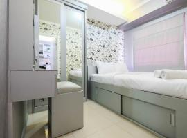 Comfy 2BR Apartment Green Pramuka City By Travelio