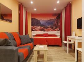 美国大街提吉卡尔公寓式酒店,位于马德里的公寓