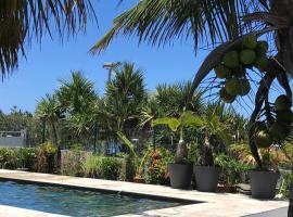 Bras-Panon: Maison avec vue et piscine 1-6 pers., Harmonie (Bras-Panon附近)