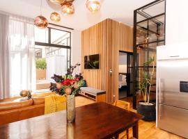 Luxury Apartment – Anzac Loft (4 Bedrooms)