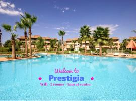 luxury and relaxe apart in Prestigia Golf City