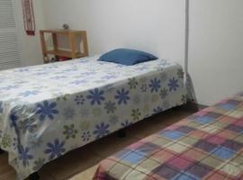 Av 25A Habitación con baño privado, hogar, barrio seguro.