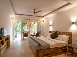 Treebo Trend Morjim Banyan Resort,位于莫尔吉姆的酒店