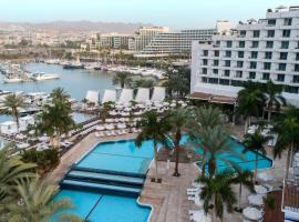 伊斯罗泰所罗门王酒店,位于埃拉特埃拉特长廊附近的酒店