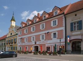 施万酒店及餐厅,位于Schwanberg的酒店