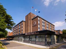 伦敦伊林希尔顿逸林酒店,位于伦敦温布利球场附近的酒店