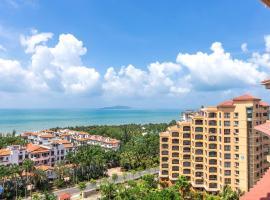 三亚湾金的精品度假酒店(厨房可烹饪,免费接送机,离沙滩100米),位于三亚的酒店