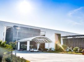苏州珀丽春申湖度假酒店,位于苏州苏南硕放国际机场 - WUX附近的酒店