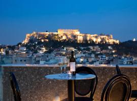 The Pinnacle Athens,位于雅典的公寓