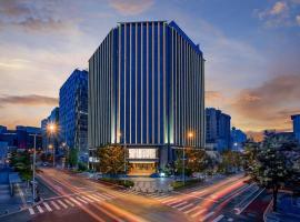 北京泛太平洋酒店,位于北京故宫博物院附近的酒店
