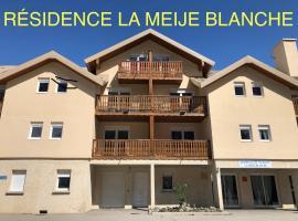 """LA MEIJE BLANCHE """"RESIDENCE DE TOURISME 2 étoiles"""",位于Villar-d'Arène的公寓"""