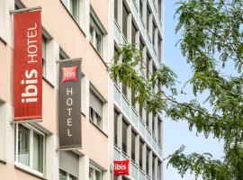 日内瓦中心火车站宜必思酒店,位于日内瓦的酒店