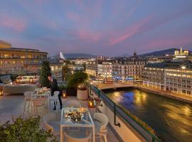日内瓦文华东方酒店,位于日内瓦的酒店