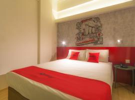 RedDoorz @ Geylang (SG Clean, Staycation Approved),位于新加坡新加坡博览会展览中心附近的酒店