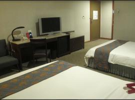 桃园翰品酒店,位于桃园市桃园机场 - TPE附近的酒店