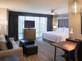 波士顿尼德姆希尔顿惠庭套房酒店