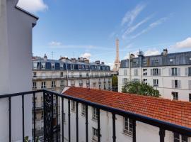 穆杰酒店,位于巴黎的酒店