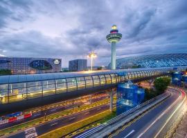 Crowne Plaza Changi Airport (SG Clean),位于新加坡新加坡博览会展览中心附近的酒店